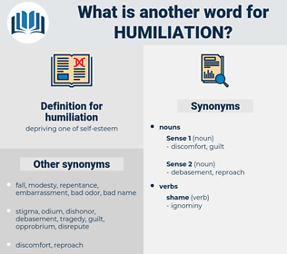 humiliation, synonym humiliation, another word for humiliation, words like humiliation, thesaurus humiliation