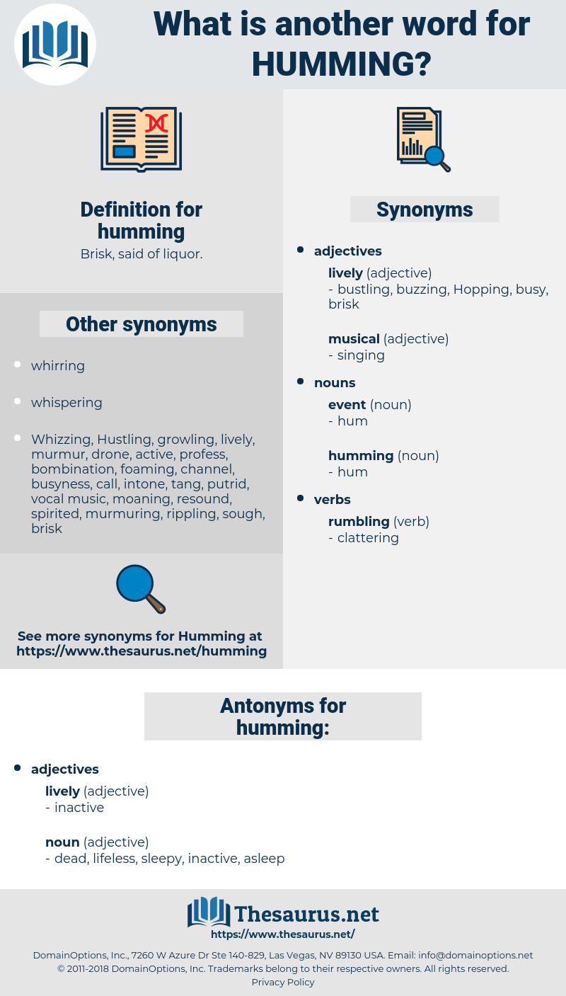 humming, synonym humming, another word for humming, words like humming, thesaurus humming