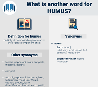 humus, synonym humus, another word for humus, words like humus, thesaurus humus