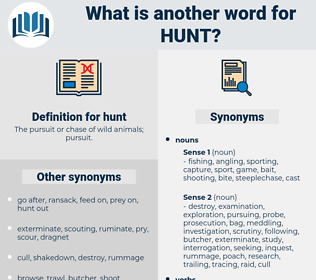 hunt, synonym hunt, another word for hunt, words like hunt, thesaurus hunt
