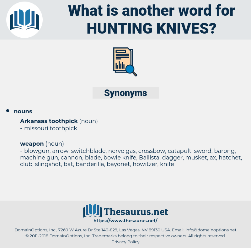 hunting knives, synonym hunting knives, another word for hunting knives, words like hunting knives, thesaurus hunting knives