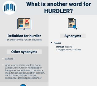 hurdler, synonym hurdler, another word for hurdler, words like hurdler, thesaurus hurdler