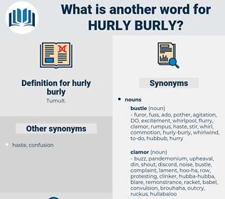 hurly-burly, synonym hurly-burly, another word for hurly-burly, words like hurly-burly, thesaurus hurly-burly