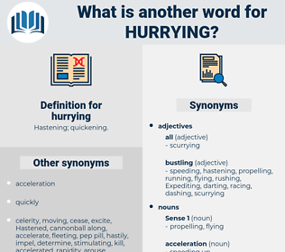 hurrying, synonym hurrying, another word for hurrying, words like hurrying, thesaurus hurrying