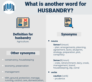 husbandry, synonym husbandry, another word for husbandry, words like husbandry, thesaurus husbandry