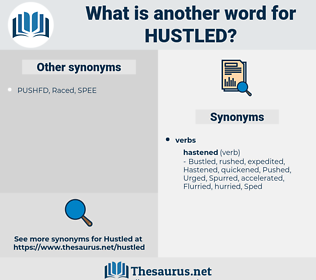 Hustled, synonym Hustled, another word for Hustled, words like Hustled, thesaurus Hustled