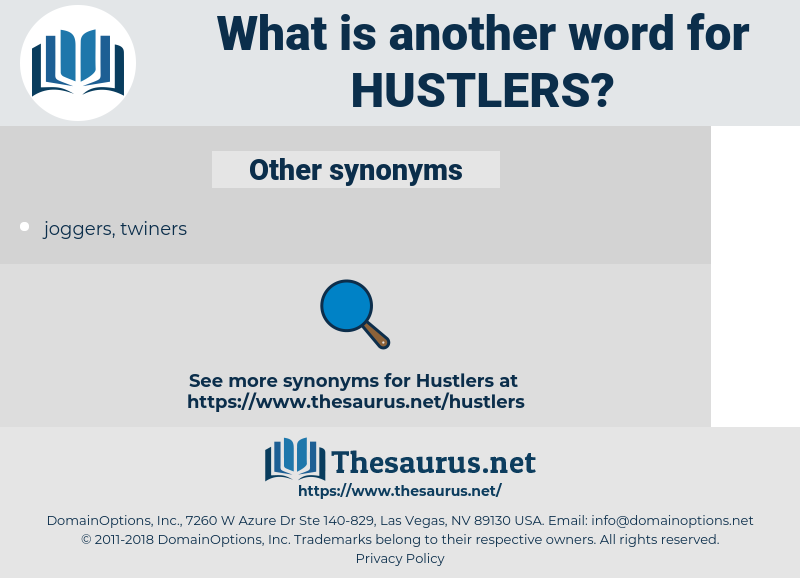 hustlers, synonym hustlers, another word for hustlers, words like hustlers, thesaurus hustlers