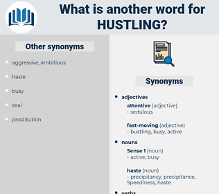 Hustling, synonym Hustling, another word for Hustling, words like Hustling, thesaurus Hustling