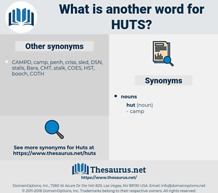 huts, synonym huts, another word for huts, words like huts, thesaurus huts