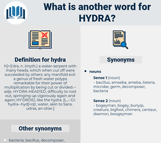 hydra, synonym hydra, another word for hydra, words like hydra, thesaurus hydra