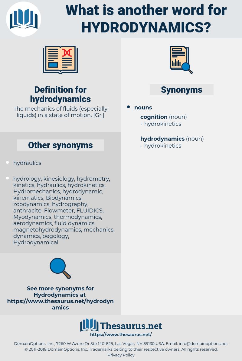 hydrodynamics, synonym hydrodynamics, another word for hydrodynamics, words like hydrodynamics, thesaurus hydrodynamics