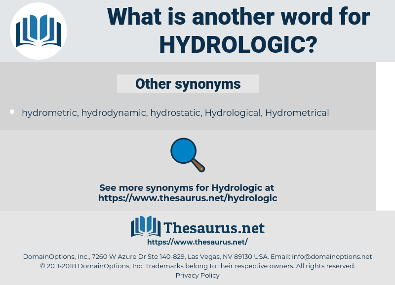 hydrologic, synonym hydrologic, another word for hydrologic, words like hydrologic, thesaurus hydrologic
