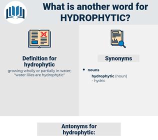 hydrophytic, synonym hydrophytic, another word for hydrophytic, words like hydrophytic, thesaurus hydrophytic