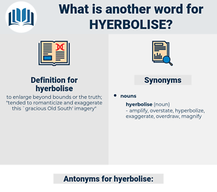 hyerbolise, synonym hyerbolise, another word for hyerbolise, words like hyerbolise, thesaurus hyerbolise