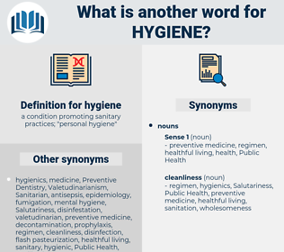 hygiene, synonym hygiene, another word for hygiene, words like hygiene, thesaurus hygiene