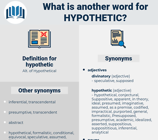 hypothetic, synonym hypothetic, another word for hypothetic, words like hypothetic, thesaurus hypothetic