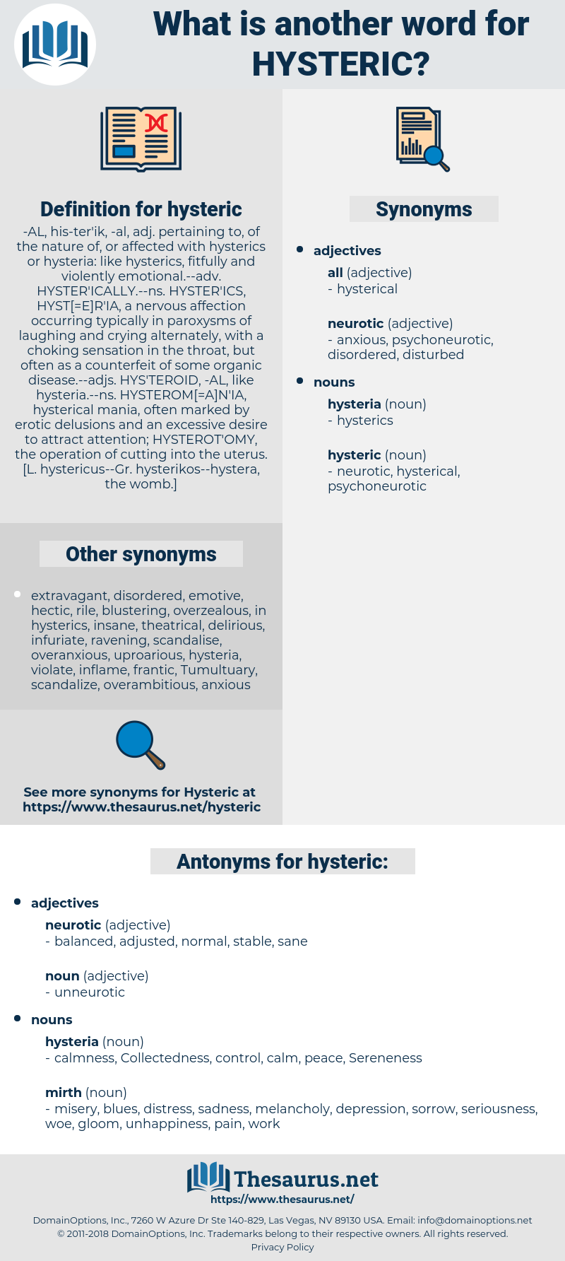 hysteric, synonym hysteric, another word for hysteric, words like hysteric, thesaurus hysteric