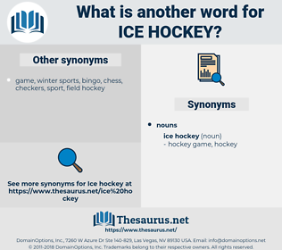 ice hockey, synonym ice hockey, another word for ice hockey, words like ice hockey, thesaurus ice hockey
