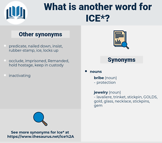 ice, synonym ice, another word for ice, words like ice, thesaurus ice