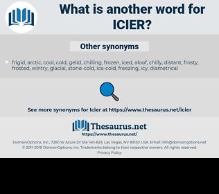 icier, synonym icier, another word for icier, words like icier, thesaurus icier