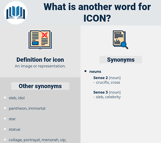 icon, synonym icon, another word for icon, words like icon, thesaurus icon