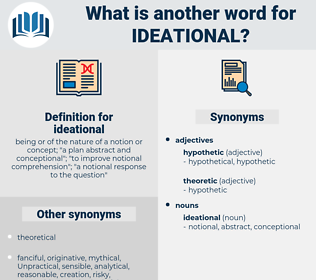ideational, synonym ideational, another word for ideational, words like ideational, thesaurus ideational