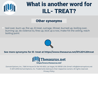 ill- treat, synonym ill- treat, another word for ill- treat, words like ill- treat, thesaurus ill- treat