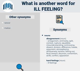 ill feeling, synonym ill feeling, another word for ill feeling, words like ill feeling, thesaurus ill feeling