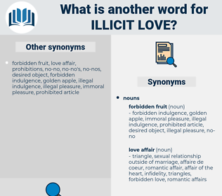 illicit love, synonym illicit love, another word for illicit love, words like illicit love, thesaurus illicit love