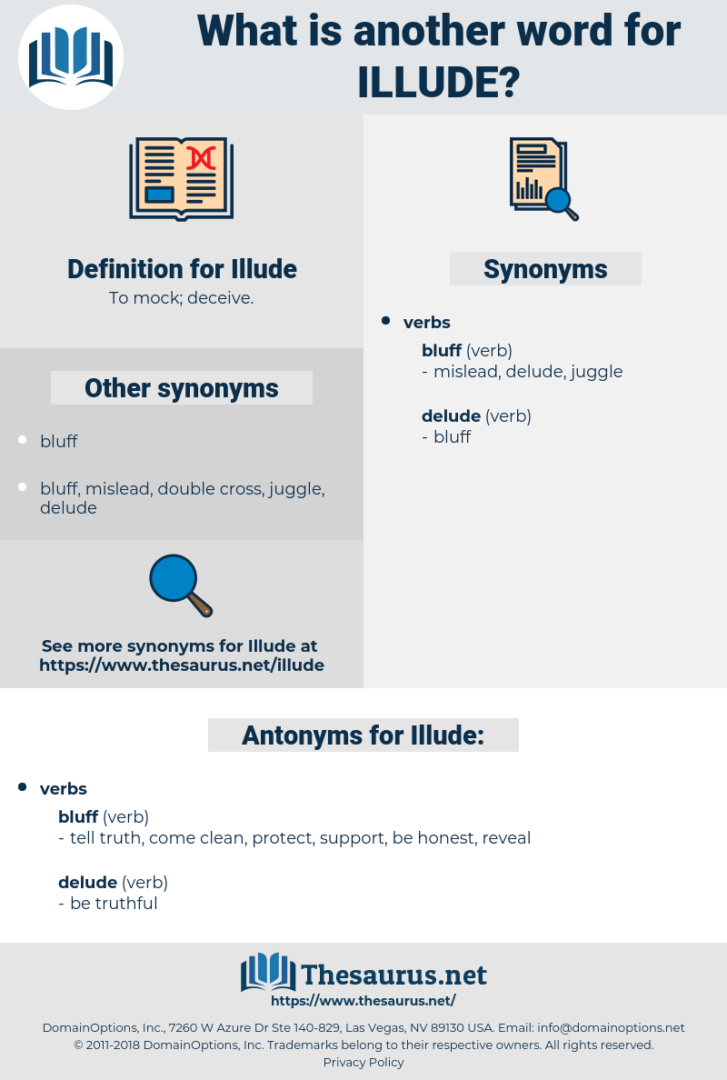Illude, synonym Illude, another word for Illude, words like Illude, thesaurus Illude