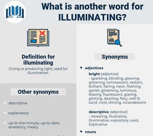 illuminating, synonym illuminating, another word for illuminating, words like illuminating, thesaurus illuminating