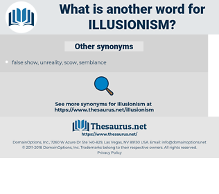 illusionism, synonym illusionism, another word for illusionism, words like illusionism, thesaurus illusionism