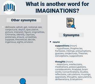 Imaginations, synonym Imaginations, another word for Imaginations, words like Imaginations, thesaurus Imaginations