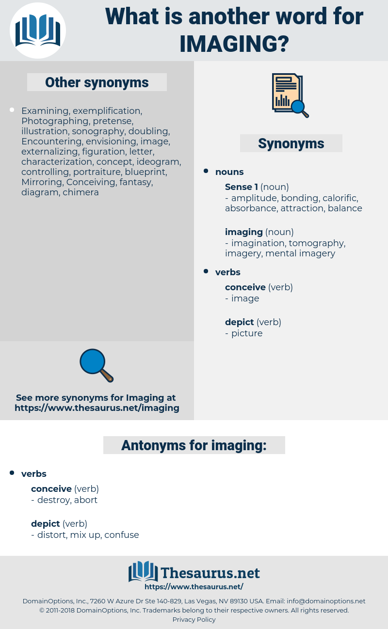 imaging, synonym imaging, another word for imaging, words like imaging, thesaurus imaging