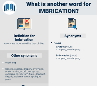 imbrication, synonym imbrication, another word for imbrication, words like imbrication, thesaurus imbrication