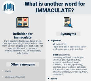 immaculate, synonym immaculate, another word for immaculate, words like immaculate, thesaurus immaculate