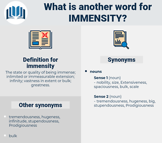 immensity, synonym immensity, another word for immensity, words like immensity, thesaurus immensity
