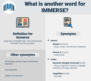 immerse, synonym immerse, another word for immerse, words like immerse, thesaurus immerse