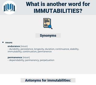 immutabilities, synonym immutabilities, another word for immutabilities, words like immutabilities, thesaurus immutabilities