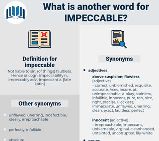 impeccable, synonym impeccable, another word for impeccable, words like impeccable, thesaurus impeccable