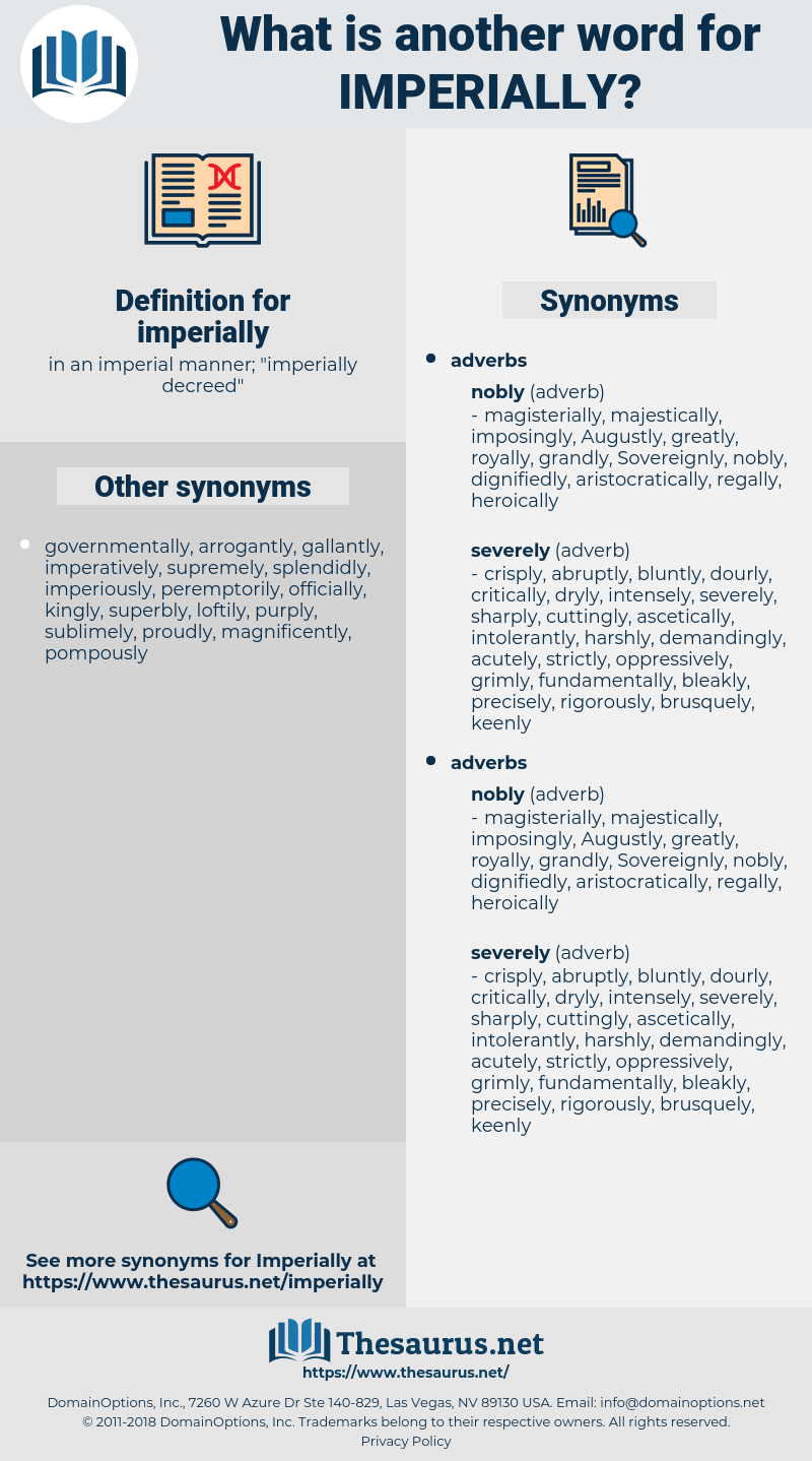 imperially, synonym imperially, another word for imperially, words like imperially, thesaurus imperially
