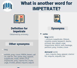 Impetrate, synonym Impetrate, another word for Impetrate, words like Impetrate, thesaurus Impetrate