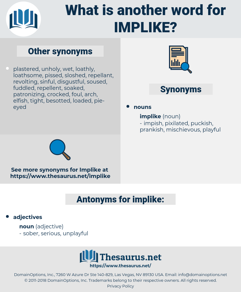 implike, synonym implike, another word for implike, words like implike, thesaurus implike