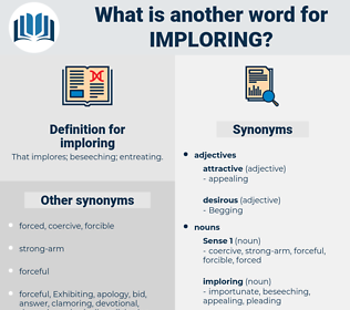 imploring, synonym imploring, another word for imploring, words like imploring, thesaurus imploring