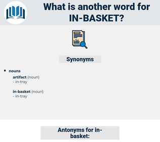 in-basket, synonym in-basket, another word for in-basket, words like in-basket, thesaurus in-basket