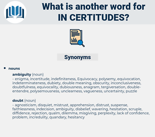 in-certitudes, synonym in-certitudes, another word for in-certitudes, words like in-certitudes, thesaurus in-certitudes