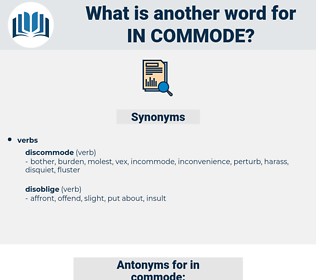 in commode, synonym in commode, another word for in commode, words like in commode, thesaurus in commode
