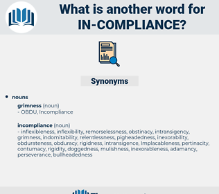 in compliance, synonym in compliance, another word for in compliance, words like in compliance, thesaurus in compliance