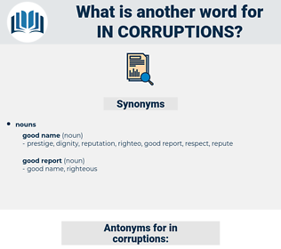 in-corruptions, synonym in-corruptions, another word for in-corruptions, words like in-corruptions, thesaurus in-corruptions