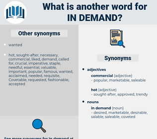in demand, synonym in demand, another word for in demand, words like in demand, thesaurus in demand